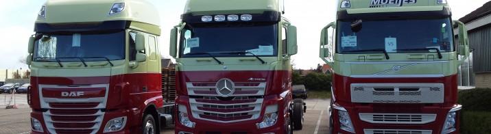 18 new trucks for Moeijes