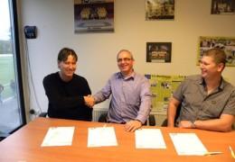 Ondertekening Super Sponsor Contract Westfriezen